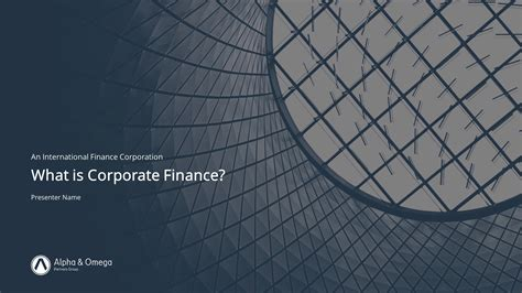 financial company overview powerpoint template slidestore