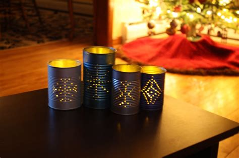 diy tin  lanterns   templates guide patterns