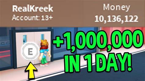 roblox jailbreak    money fast  million