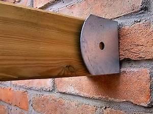 Support De Poteau : connecteur pour 5 poteaux en bois 90x90 support en acier ~ Melissatoandfro.com Idées de Décoration