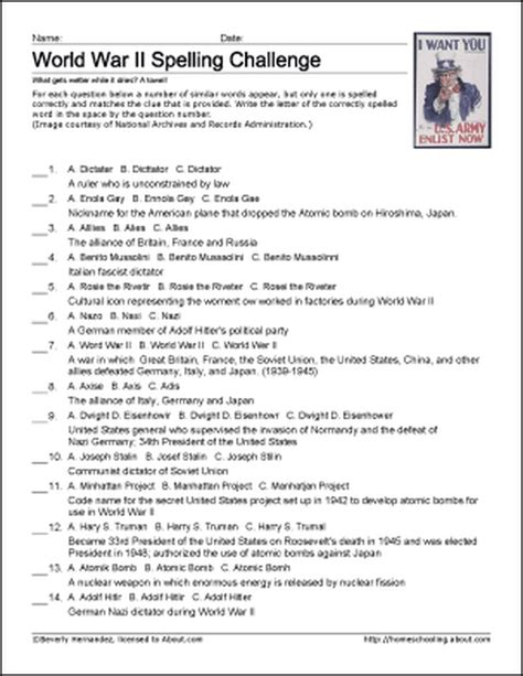 8 best history worksheets images on pinterest english history and world war two