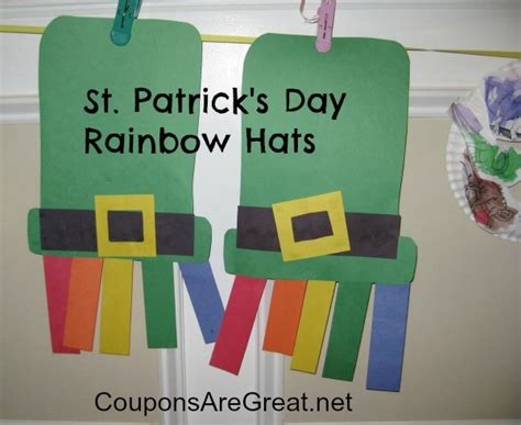 st patricks day crafts for preschoolers 30 easy peasy diy st s day crafts for 812