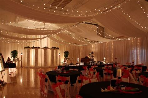 draping walls wedding reception i this lighted ceiling canopy cleverflowers my