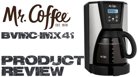 We'll review the issue and make a decision about a partial or a full refund. Mr. Coffee 12 Cup Programmable Coffee Maker Product Review - YouTube