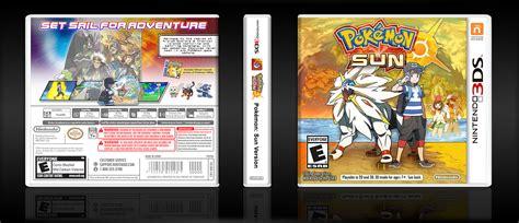 pokemon sun version nintendo ds box art cover  brettska