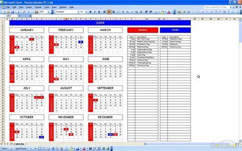Calendar Template Excel Free Excel Calendar Template Excel Calendar