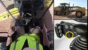 John Deere Motor Grader Right Dual Joystick Controls