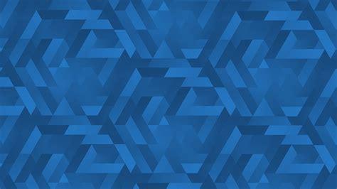 blue gradients textures triangles hd wallpaper