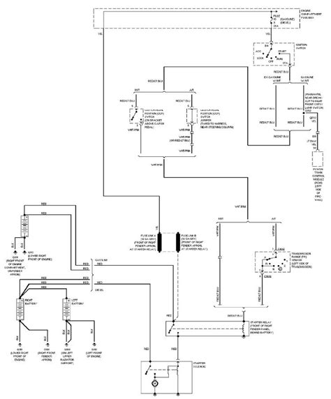 Ford Pickup Light Duty System Wiring Diagram