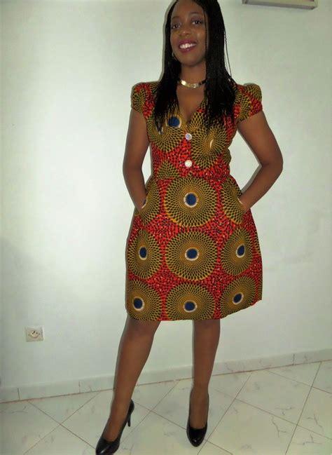 Robe Pagne Africain Robe En Pagne Africain Pour Femme Enceinte Gu05 Jornalagora