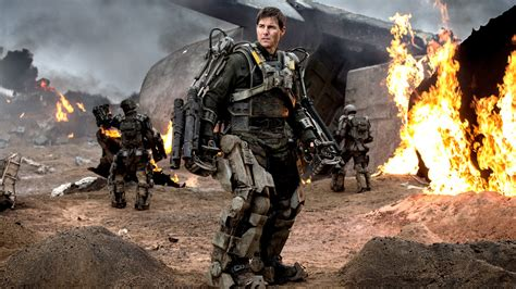 Tom Cruise In Edge Of Tomorrow, Hd Movies, 4k Wallpapers, Images, Backgrounds, Photos And Pictures
