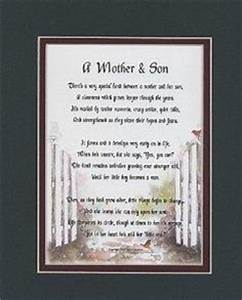 details about to my son on his wedding day poem With letter from son to mother on wedding day