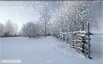winter snow android animiert hintergrundbild kostenlose