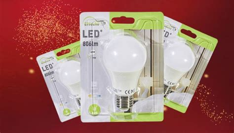 Lot De 10 Ampoules Led à 1 € Avec La Carte De