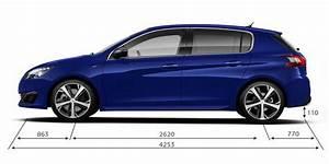 Dimensions 308 Peugeot : informations techniques et motorisations peugeot 308 gt ~ Medecine-chirurgie-esthetiques.com Avis de Voitures