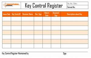 Key register log related keywords key register log long for Key register template free