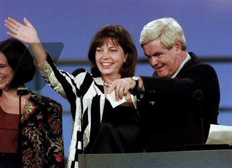 gingrich wives   center  career