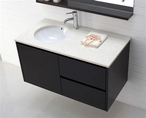 Luxor-wall Hung Vanity In Espresso-modern