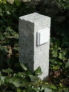 Naturstein Im Garten : au ensteckdose gartensteckdose granit gestockt strom ~ A.2002-acura-tl-radio.info Haus und Dekorationen