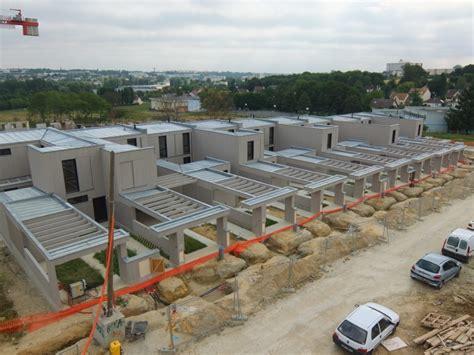 maison a vendre saulx les chartreux construction de 49 logements sociaux collectifs et individuels 91 lignatec
