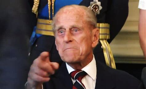 Prince Philip tells photographer to 'just take the f---ing ...