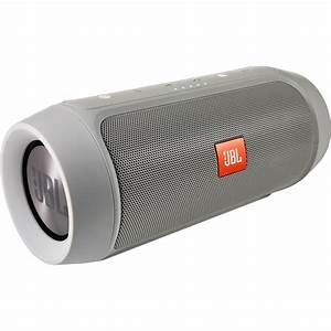 Jbl Charge 2  Portable Stereo Speaker  Gray  Charge2plusgrayam