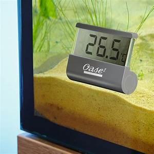 Optimale Aquarium Temperatur : oase digital aquarium thermometer ~ Yasmunasinghe.com Haus und Dekorationen