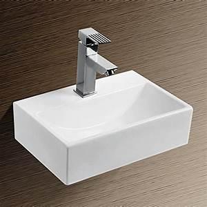 Waschbecken Eckig Klein : neg waschbecken uno24h extra klein eckig h nge ~ Watch28wear.com Haus und Dekorationen
