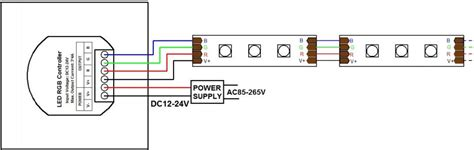 Wire Diagram 24v Driver by 2016 New 12 24v Wall Mounted Panel Led Controller Rgb 12a