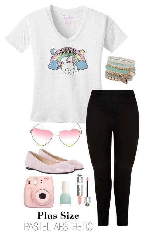 U0026quot;Plus Size Pastel Grunge Outfitu0026quot; Tumblr fashion plus size ...