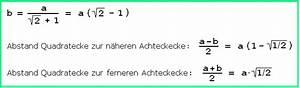 Seitenlänge Quadrat Berechnen : manfred boergens problem 65 mit loesung ~ Themetempest.com Abrechnung