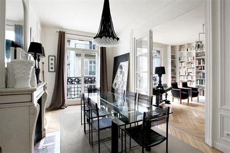 Black Parisian Interior Design Home Office by Interior Design The Beautiful Parisian Style