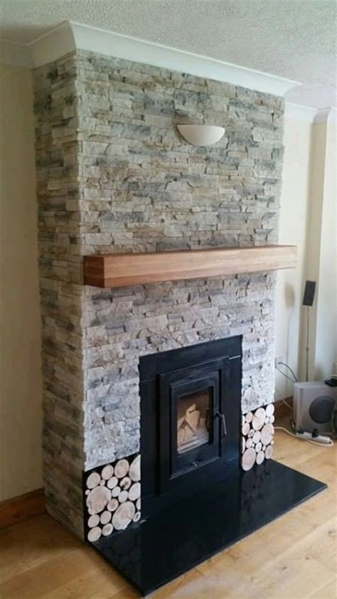 Remodel Brick Fireplace Ideas by Fireplace Chimney Breast Transformation Deco Stones