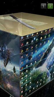 Cool 3D effect Cube Desktop by GrimJaw-JaggerJack on ...