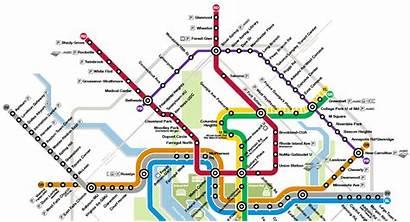 Map Purple Line Washington Metro Dc Maryland