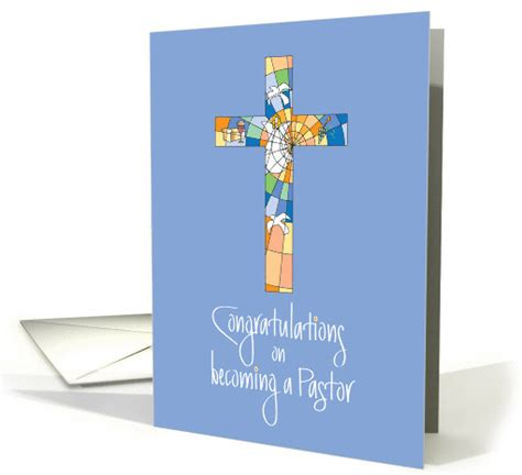 congratulations  induction  pastor  stained glass