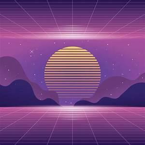 Vaporwave Background Download Free Vector Art Stock