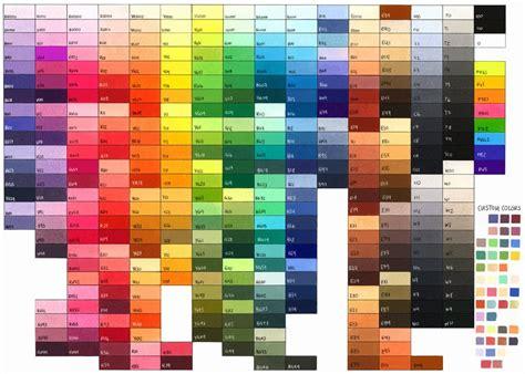 copic color chart vili s copic