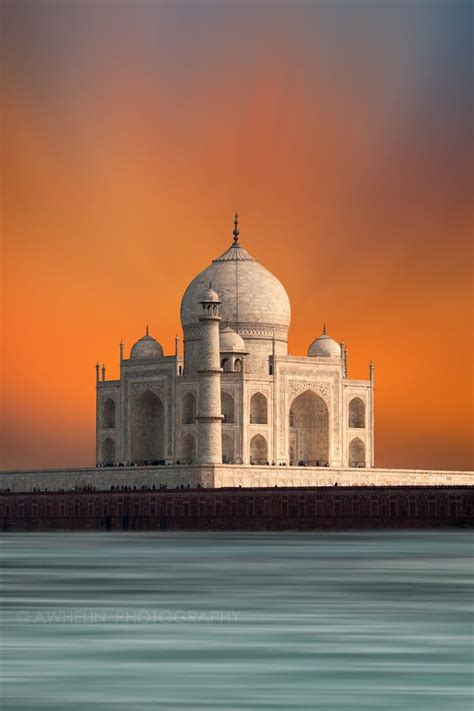 Taj Mahal Agra India India Pinterest