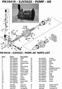 Excell Pressure Washer 2227cwb Parts Breakdown Owners Manual