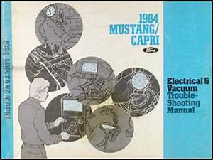 1984 Ford Mustang Wiring Diagram : 1984 ford mustang and mercury capri wiring diagram original ~ A.2002-acura-tl-radio.info Haus und Dekorationen