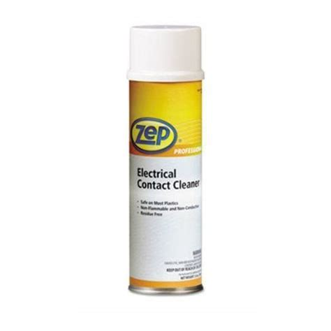 Zep Neutral Floor Cleaner Msds by Zep Professional Electrical Contact Cleaner Zpp1041830