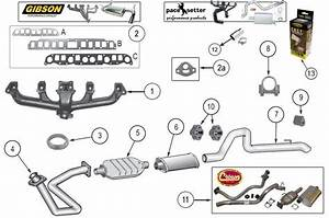 Exhaust System Parts For Wrangler Yj