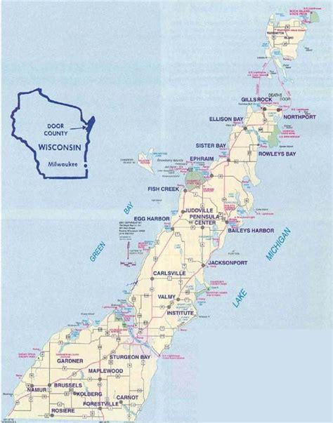 door county washington island 31 luxury map washington island bnhspine