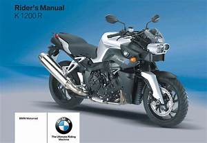Bmw K 1200 R 4th 2007 Owner U2019s Manual
