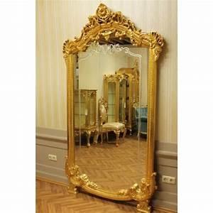 Grand Miroir Baroque : miroir baroque grand miroir mural almi0054go de style antique achat vente miroir black ~ Teatrodelosmanantiales.com Idées de Décoration