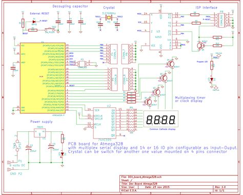 Development Board For Atmega Avr Freaks