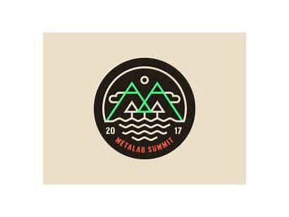 Summit Badges Dribbble Annual Couple Pm Retreat
