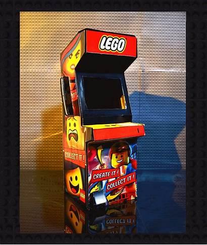 Arcade Lego Interactive Behance