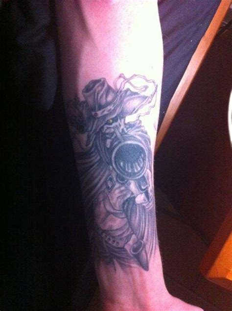 justice afro samurai tattoo